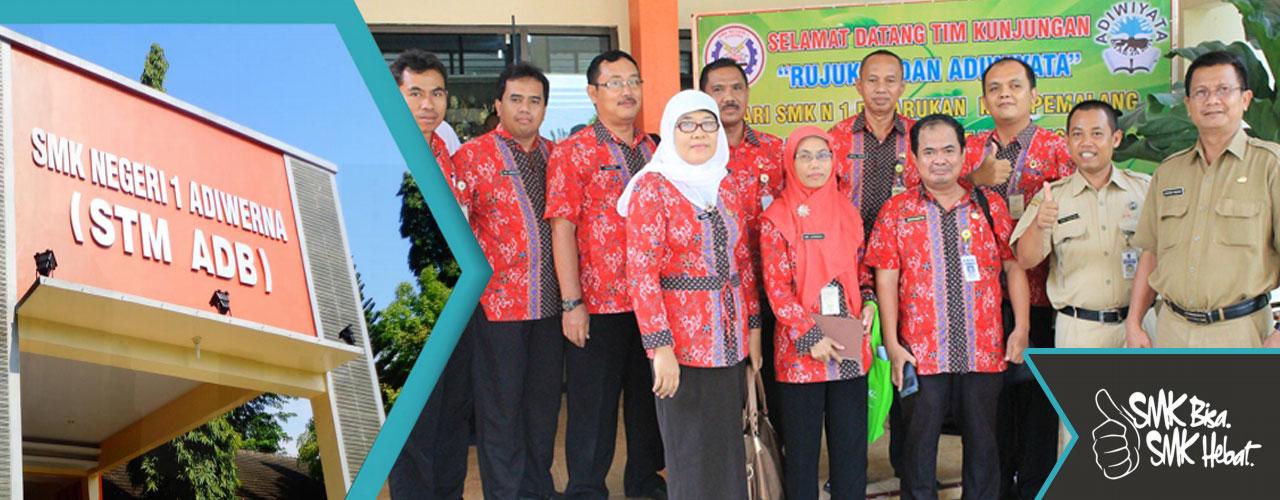 Kunjungan Study Banding SMA Negeri 1 Kramat & SMK Negeri 1 Petarukan Ke SMK Negeri 1 Adiwerna
